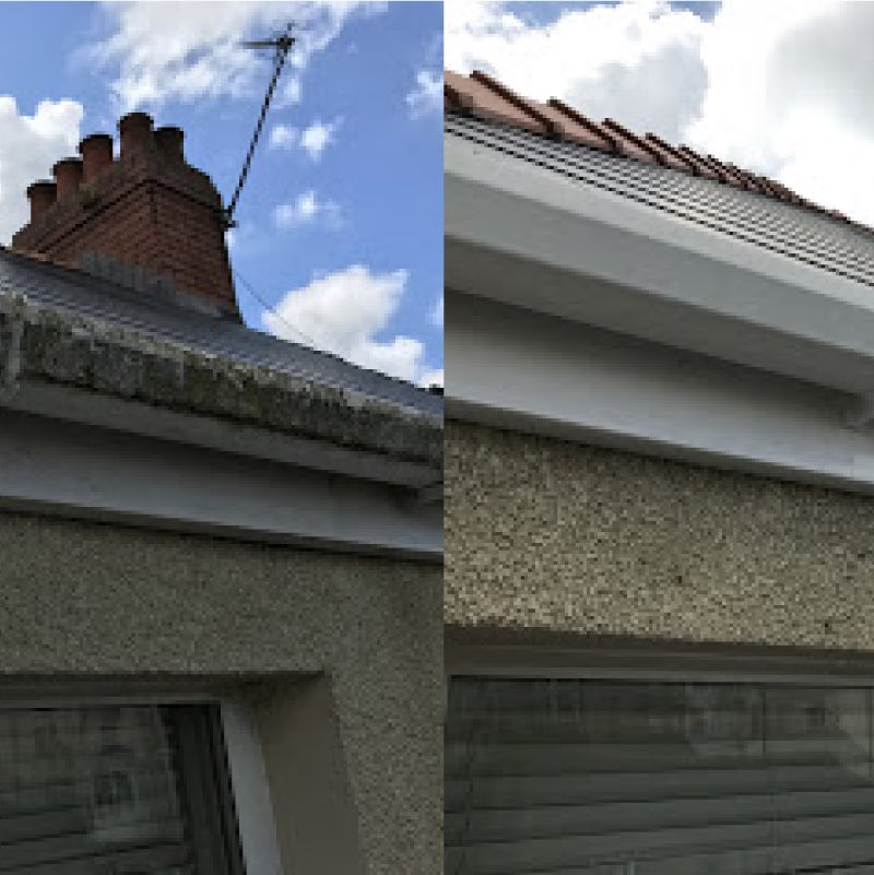 Gutter cleaning in Cardiff